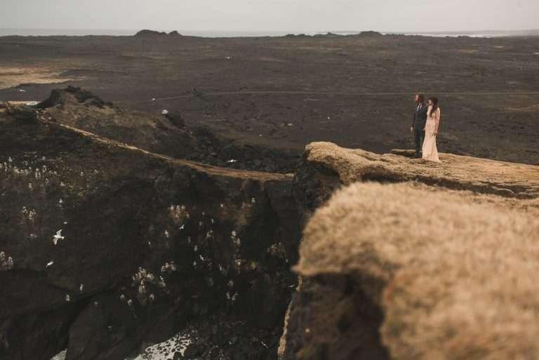 Icelandic Elopement at Reykjanes Peninsula