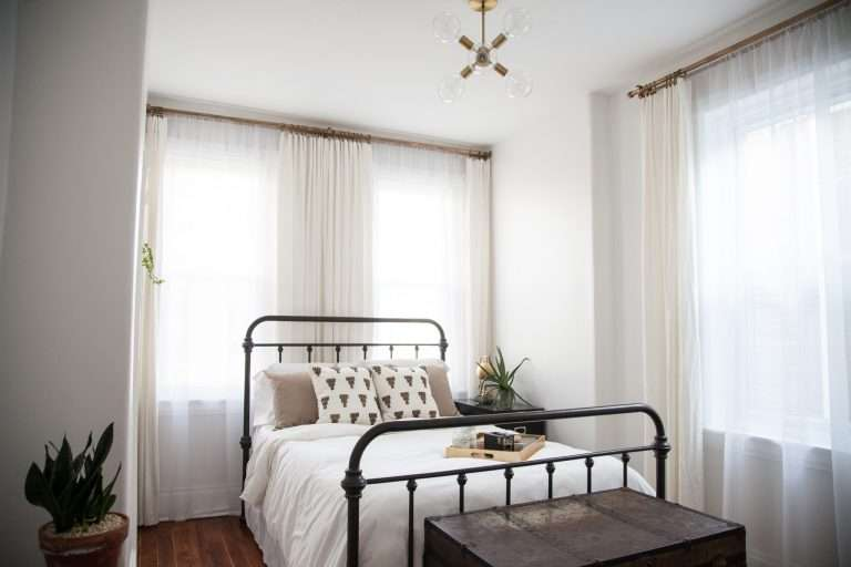 A Light & Airy Guestroom Renovation