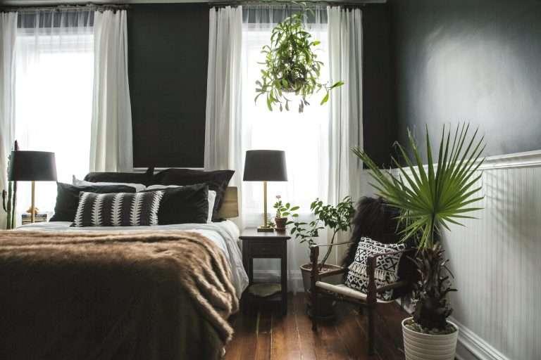 A Master Bedroom Makeover Goes Black