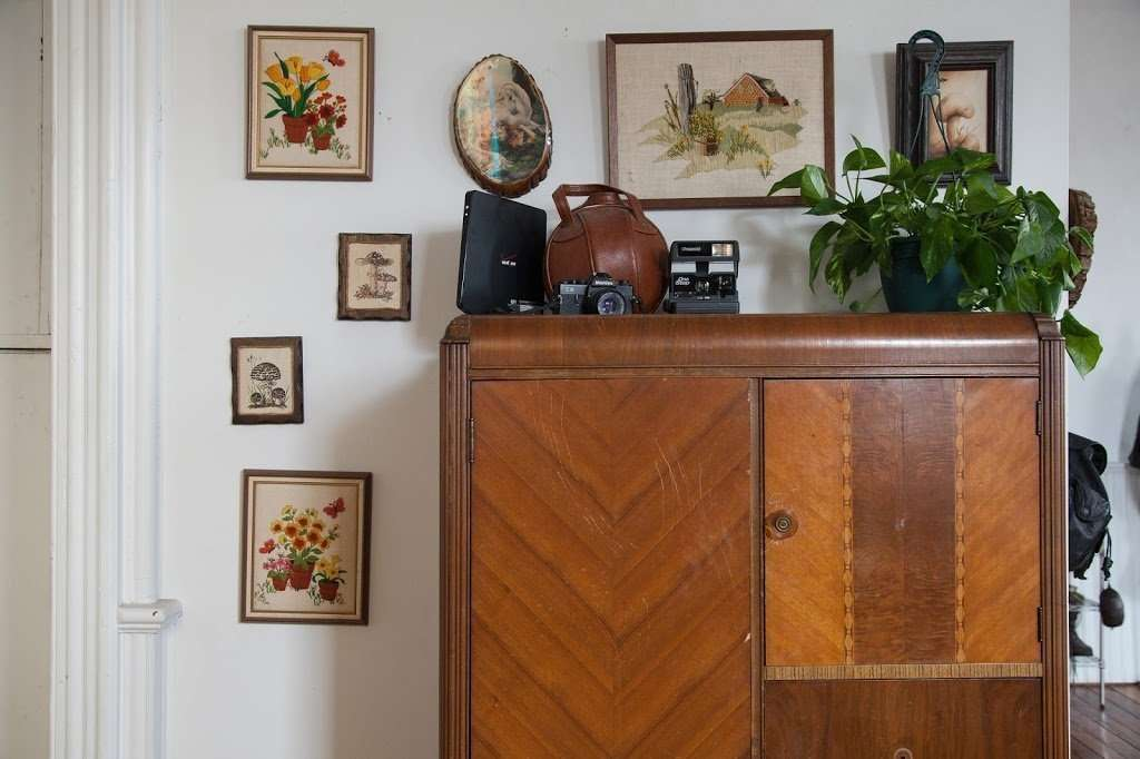 Vintage Wardrobe and Gallery Wall