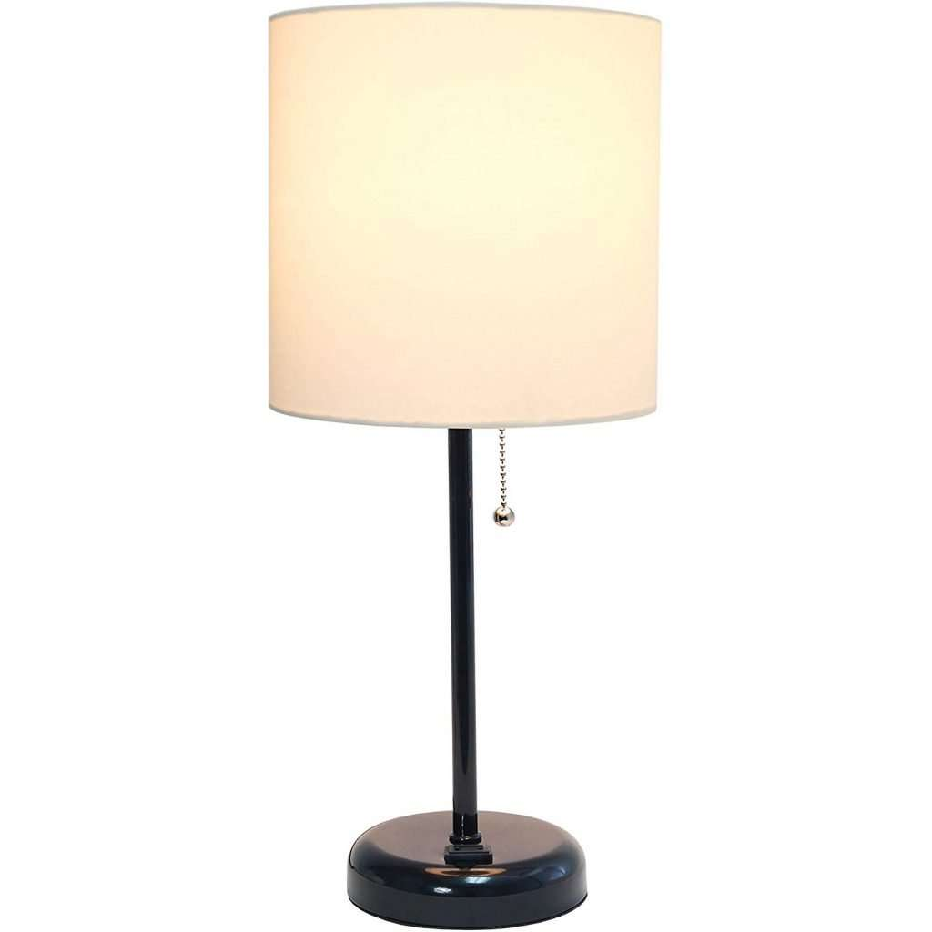 table lamp with charging outlet