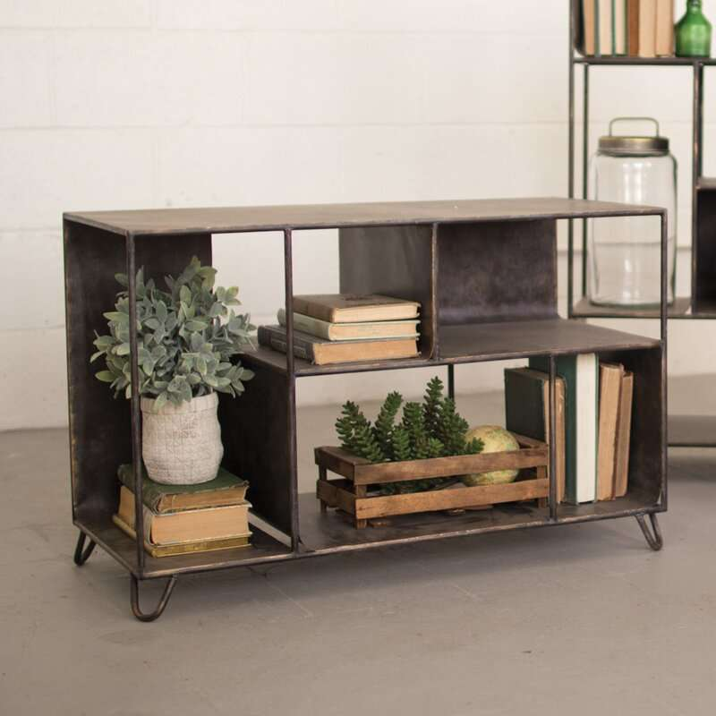 metal industrial bookcase