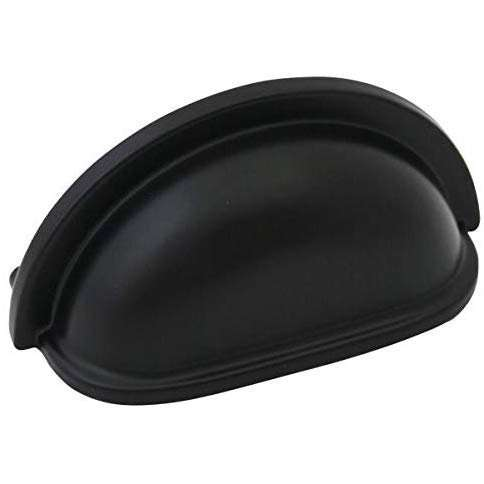 black cup drawer handle