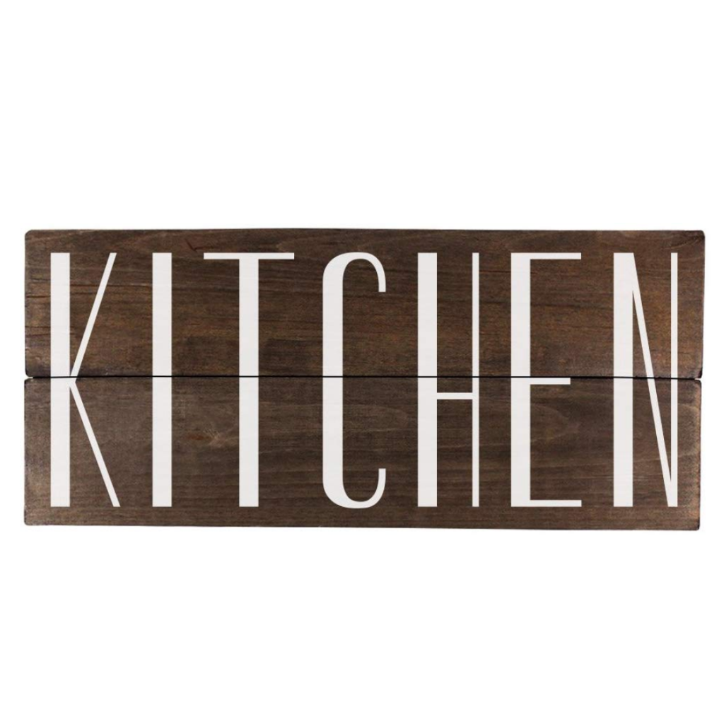 farmhouse kitchen decor sign