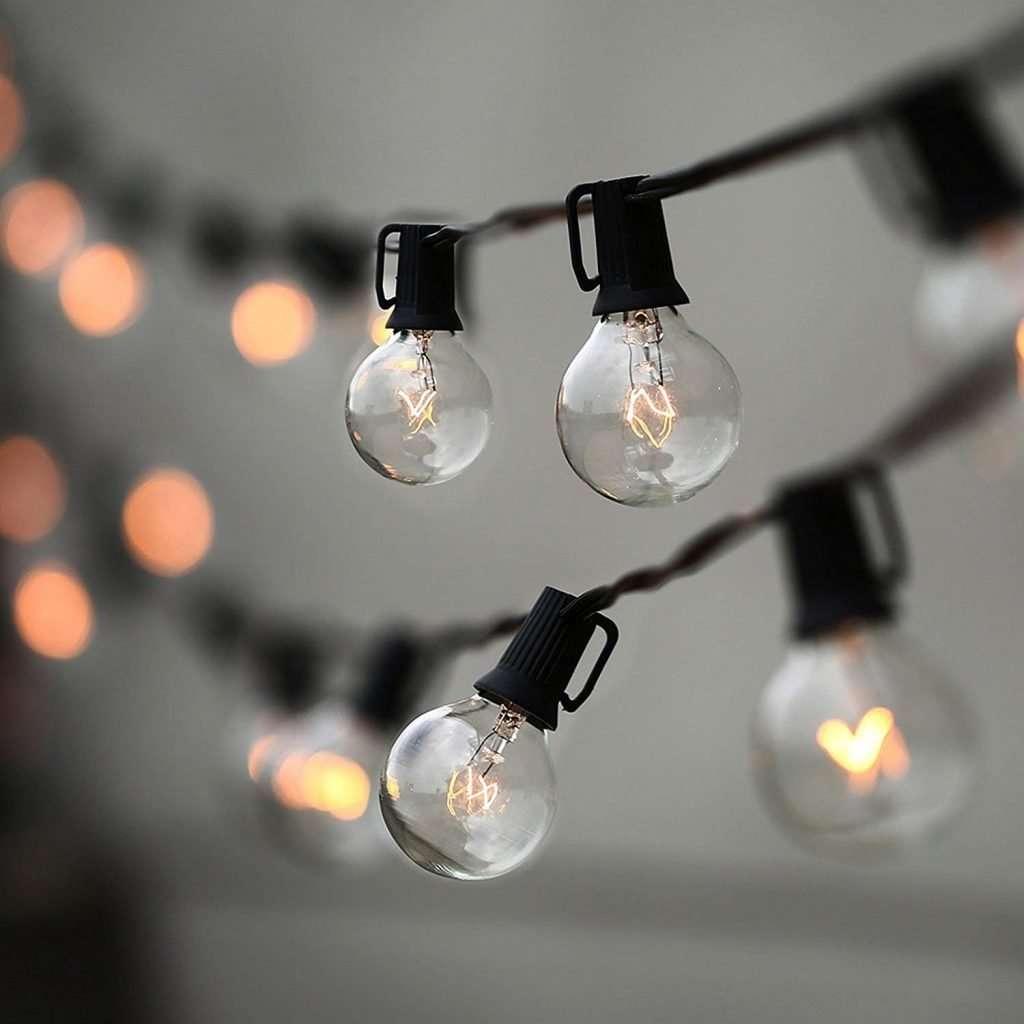 globe string lights
