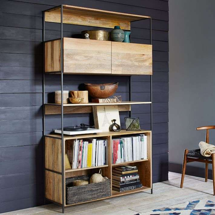 industrial modular shelving unit