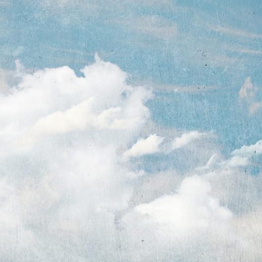 cloud wallpaper mural