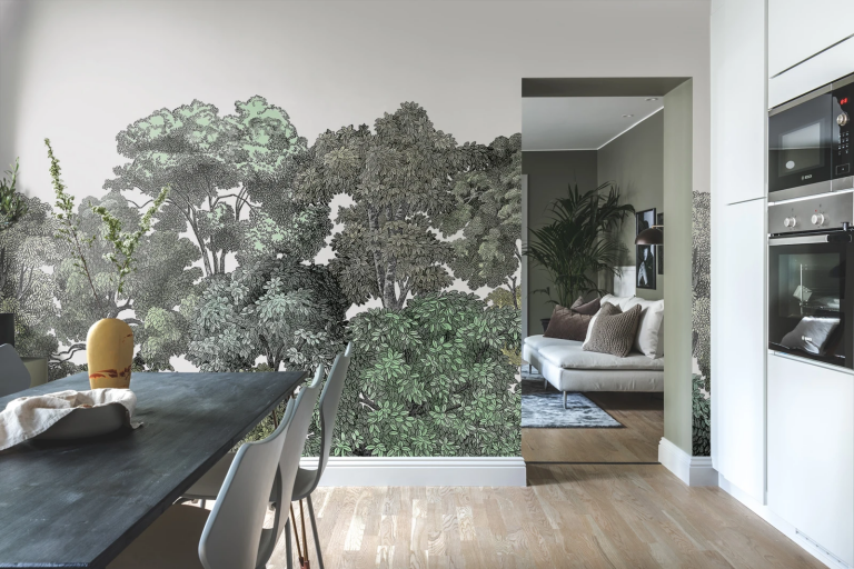 20 Wall Mural Ideas for Your Home
