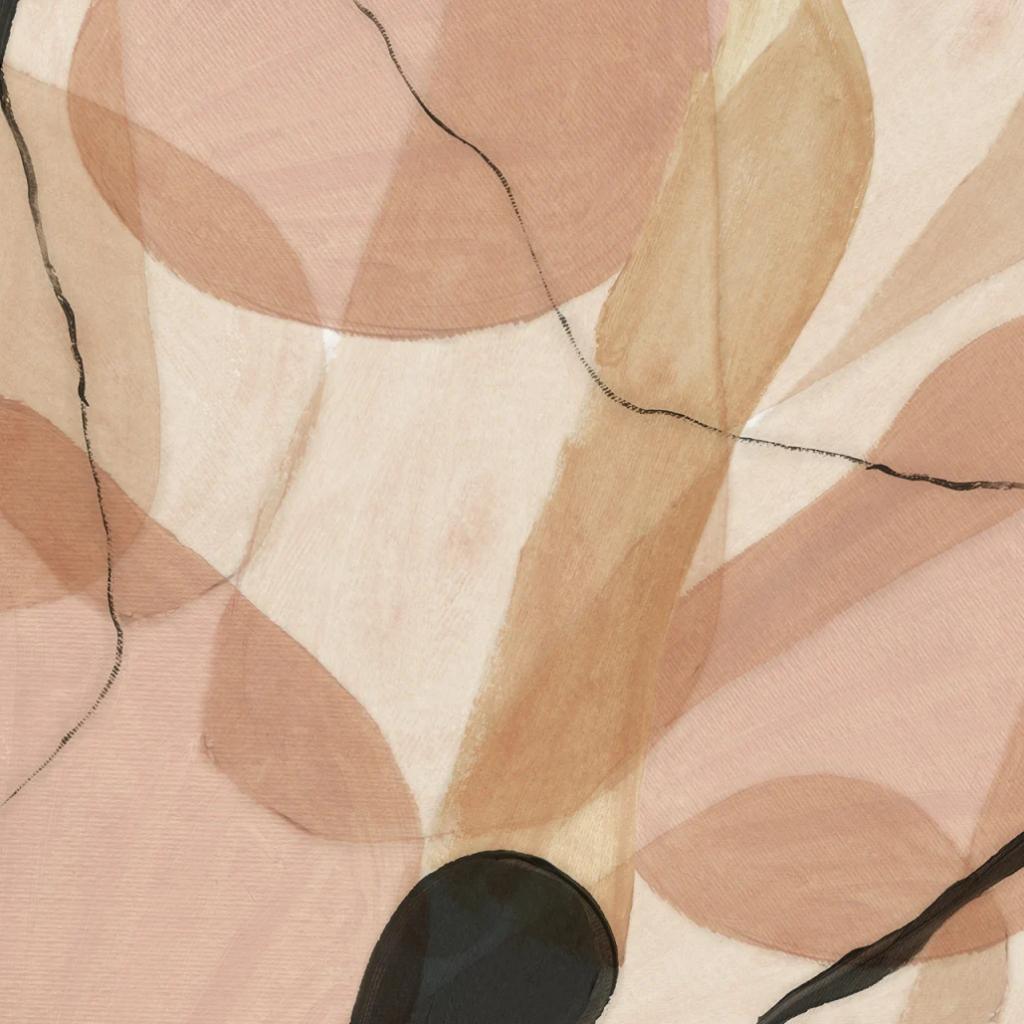 abstract shapes wallpaper mural