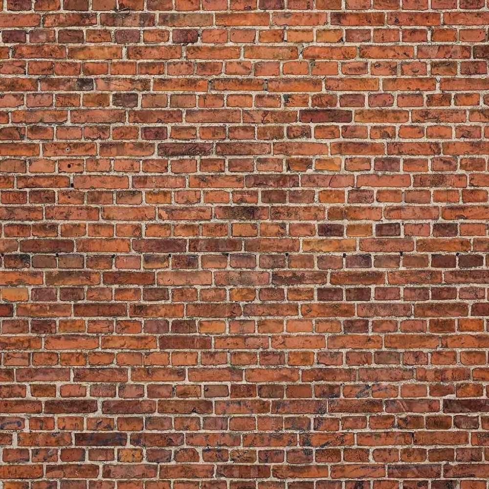 red brick wallpaper mural