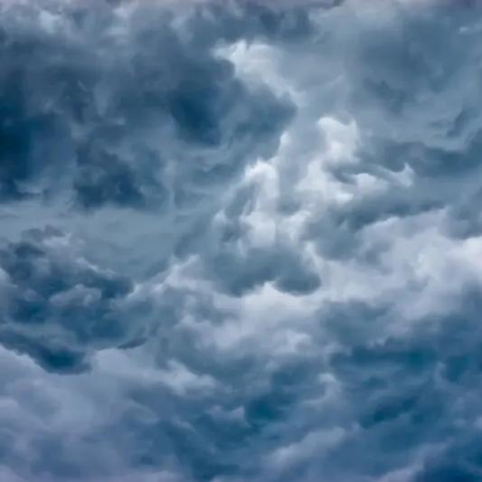dark clouds wallpaper mural